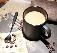 Винтаж Стаканы, 420 ml Переносной Керамика Телесный Молоко Кофейные чашки Чашки для путешествий