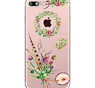 Succulent Plants Flower Soft TPU for Apple iPhone 7 Plus iPhone 7 iPhone 6s Plus 6 Plus iPhone 6s 6 iPhone 5S SE 5C iphone 4S