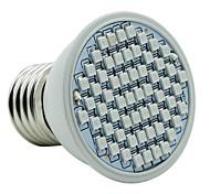 4W E27 LED Grow Lights 60 SMD 3528 1500-1800 lm Red Blue AC85-265 V 1 pcs