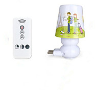 Remote Control Intelligent Nightlight Baby Bedroom Bedside Lamp Lights Timing Lights