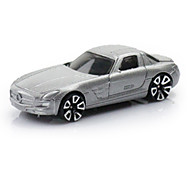 Race Car Toys Car Toys 1:64 Metal Plastic Silver Model & Building Toy