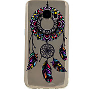 For Samsung Galaxy S8 Plus S7 Dream Catcher Pattern Soft TPU Material Phone Case for S6 S8