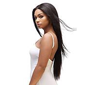 1PC TRES JOLIE Remy Yaki 10-20Inch Color 1B Black Human Hair Weaves