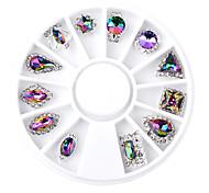 Fire Drill Multicolored AB Diamond Diamond Jewelry