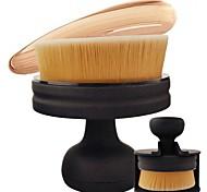 1 Щетка контура Кисть для румян Кисть для консилера Кисть для основы Синтетические волосы Переносной Офис Путешествия Экологичность Смола