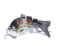1 pcs Minnow Minnow Black 0.017 g Ounce mm inch,Plastic General Fishing