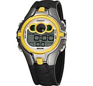 KEZZI Men's Sport Watch Digital Watch Quartz Digital / Silicone Band Casual Black White Black Yellow Orange red Blue