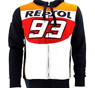 Motorrad warme Unisex-Jacke Strickjacke Hoodiemantel Reiten