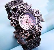 Fashion Watch Quartz Alloy Band Black