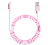 yellowknife IMF rayo certificado de aluminio usb cable de sincronización de datos enchufe& cable del cargador para el iphone / 6s 6s