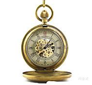 Reloj de Bolsillo Cuarzo Aleación Banda Bronce