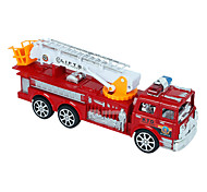 Fire Engine Vehicle Toys 1:24 Metal Plastic Red