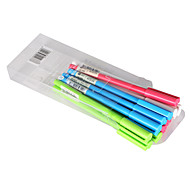 Gel Pens Black Ink 0.38MM 1 Set of 12 PCS