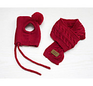 Собака Банданы и шляпы Одежда для собак Очаровательный Сохраняет тепло Сплошной цвет Темно-синий Серый Красный