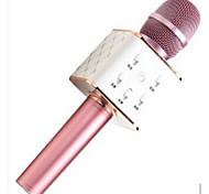 K068 Wireless Karaoke Microphone USB Black Pink Gold
