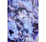 For Apple iPad Air 2 Air Case Cover Marble Pattern Three Fold PU Material Tablet PC Shell Phone Case