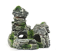 Aquarium Decoration Ornament Rocks Artificial Resin