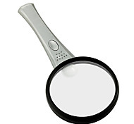 8X/12X 75mm Multifunction Handheld Reading 2-LED Magnifier