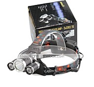 U'King® ZQ-X807 CREE XML T6  2R5 3 LED 4000LM 4Modes Multifunction Headlamp Bicycle Light for Camping Hiking
