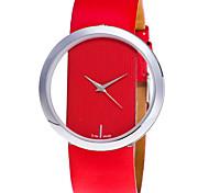 Dress Watch Fashion Wrist Watch Creative Quartz Leather Band Cool Casual Top Grade Luxury Charm Relogio Feminino Bracelet Watches For Women Unique