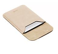 для Apple MacBook Air / Pro 13,3 12 11,6 дюймов рукава ноутбук сумка кожа PU простой отдых стиль сумка для ноутбука сплошной цвет