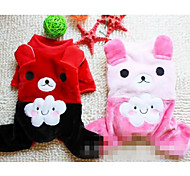 Dog Coat Dog Clothes Casual/Daily Sports Solid Random Color