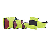 Travel Bag for Travel Storage Fabric-Orange Dark Blue Gray Light Green