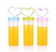 Sports Drinkware, 500 ml Portable Plastic Juice Tumbler