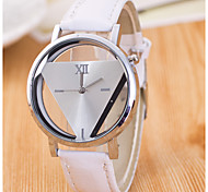 Fine When Contracted Harajuku Triangle Watch Personality Double-Sided Hollow-Out Gone South Korea Fashion Students Watch
