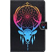 Para con Soporte Diseños Funda Cuerpo Entero Funda Animal Dura Cuero Sintético para Apple iPad Mini 4 Mini iPad 3/2/1