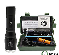 UKing ZQ-X909S-EU Adjustable Portable High Power 2000Lm 5Mode CREE T6 LED Flashlight Torch Kit