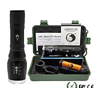 UKing ZQ-X909S-EU Adjustable Portable High Power 2000Lm 5Mode CREE T6 LED Flashlight Torch Kit