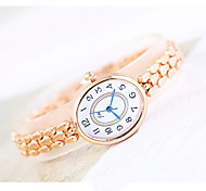 Women's Fashion Watch Quartz Alloy Band Casual Cool Rose Gold
