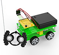 Brinquedos Para meninos Brinquedos de Descoberta Kit Faça Você Mesmo Brinquedo Educativo Carro Metal ABS Preta Verde