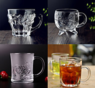 Novelty Drinkware, 200 ml Decoration Glass Coffee Water Glass