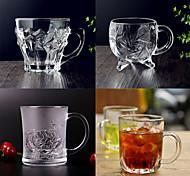 Novidades Artigos para Bebida, 200 ml Decoração Vidro Café Água Vidro
