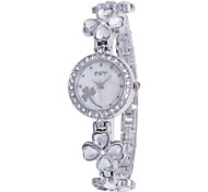 Women's Sport Watch Dress Watch Fashion Watch Wrist watch Bracelet Watch Quartz Imitation Diamond Alloy Band Charm Casual Multi-Colored