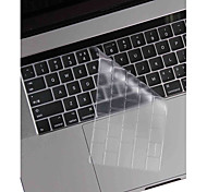 XSKN® Ultra-thin and Transpar TPU Keyboard Skin and Touchbar Protector for 2016 Newest MacBook Pro 13.3/15.4 with Touch Bar Retina US Layout