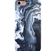 For Apple iPhone 7 7Plus 6S 6Plus Case Cover Marble Pattern Inside And Outside Matte PC Material Phone Case