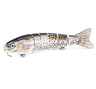 2 pçs Vairão Vairão Castanho 0.021 g Onça mm polegada,Plástico Pesca Geral