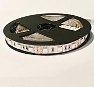 Z®ZDM 5M 72W 300PCS 5050 3Red 1Blue/Group LED Plant Light strip DC12V