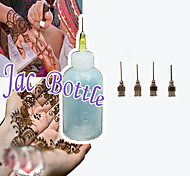 HENNA Applicator Temporary Tattoo kit Body Ink Herbal Mehndi