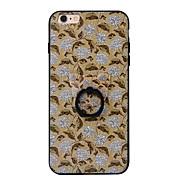 Для Кольца-держатели Кейс для Задняя крышка Кейс для Цветы Твердый PC для AppleiPhone 7 Plus iPhone 7 iPhone 6s Plus iPhone 6 Plus iPhone
