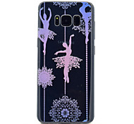 For Samsung Galaxy S8 S8 Plus Sexy Lady Pattern Soft TPU Material Phone Case
