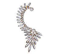 Dangle Earrings Rhinestone Unique Design Gemstone Imitation Pearl Jewelry Jewelry For Party Ear Cuff