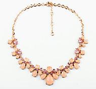 Жен. Пряди Ожерелья Бижутерия Уникальный дизайн Розовый Бижутерия Для 1шт
