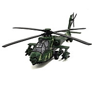 Planes & Helicopter Pull Back Vehicles 1:32 Metal Plastic Green Yellow