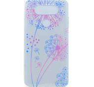 Для Прозрачный С узором Кейс для Задняя крышка Кейс для Одуванчик Мягкий TPU для LG LG K10 LG K8 LG K7 LG G6 LG Nexus 5X LG V20 LG X Power