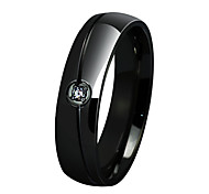 Simple Stainless Steel single Ring Gold-Plated Ring Allergy Free Men's and Women's Ring jewelry wholesale R-059