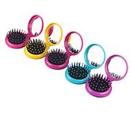 Расчёска / гребень Для сухих и влажных волос Защита от электризации волос Массаж Складной Легкие Антистатический Нормальная